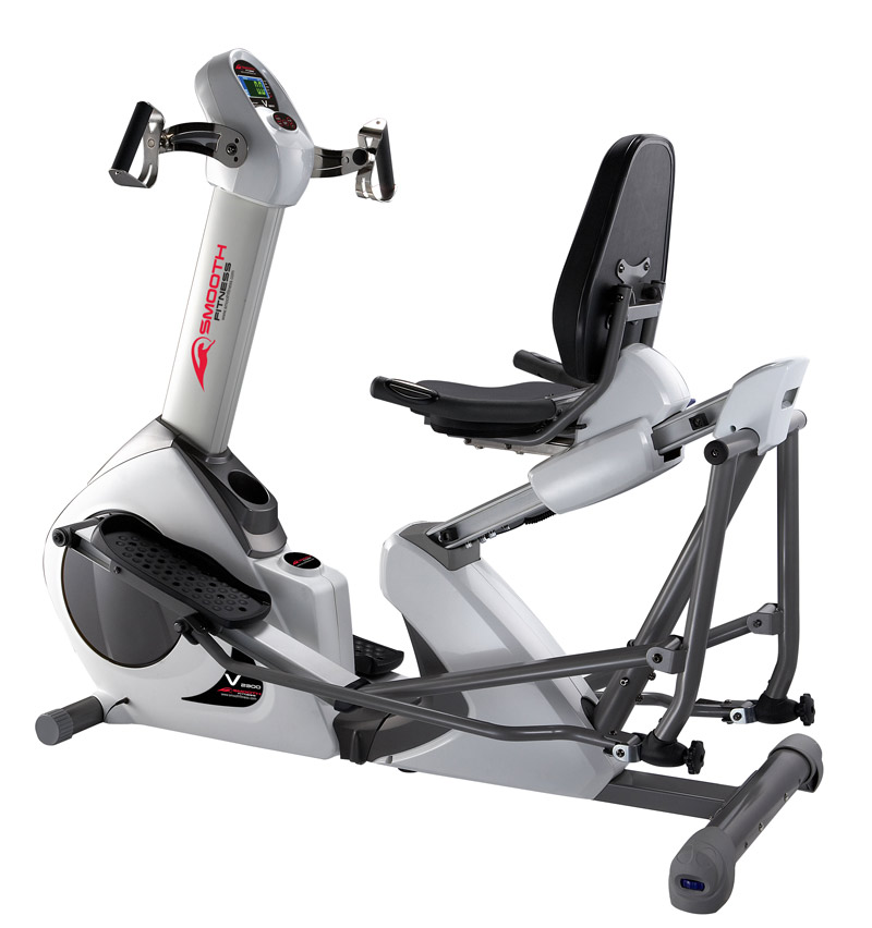 Elliptical Sit Down Bike: Smooth V2300 Elliptical Exercise Bike Review